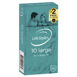 LifeStyles Large 10 pack