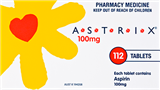 Astrix Tablets 100mg 112