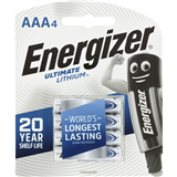 Energizer Battery Lithium L92 AAA BP4