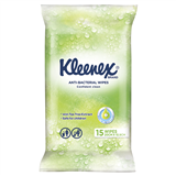 Kleenex Anti  Bacterial Wet Wipes 15