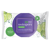 Swisspers Cucumber Facial Wipes 25