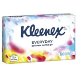 Kleenex Facial Tissue Soft Pack 60s