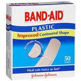 Band  Aid Plastic 50 Strips