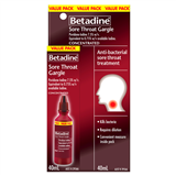 Betadine Sore Throat Gargle 40ml Value Pack