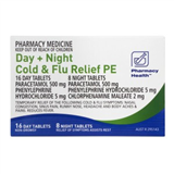 Pharmacy Health Cold  Flu Day  Night PE 24