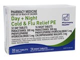 Pharmacy Health Cold  Flu PE Day  Night 48 Tablets