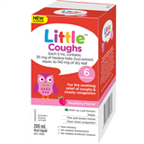 Little Coughs Raspberry 200ml