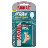 BandAid Advanced Footcare Blister Cushion Medium Extreme 5 Pack