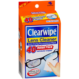 Clearwipe Lens Cleaner 40 Value Pack 6 Carton