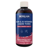 Bioglan Iron  B Vitamins Liquid Tonic 250ml