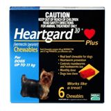Heartgard Plus B011kg 6 Tablets