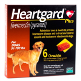 Heartgard Plus Brown 2345kg 6 Tablets