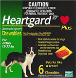 Heartgard Plus Green 1222kg 6 Tablets