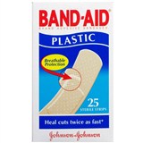 Band  Aid Plastic 25 Strips