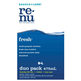 Bausch  Lomb Renu Fresh MultiPlus Solution 355ml  120ml Duo